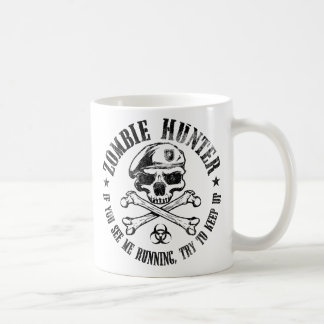 zombie hunter undead living dead coffee mug