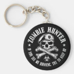 zombie hunter undead living dead key chains