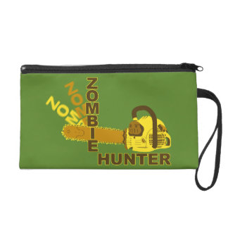 Zombie Hunter Wristlet (green background)