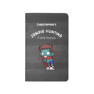 Zombie Hunting Field Notes Journal