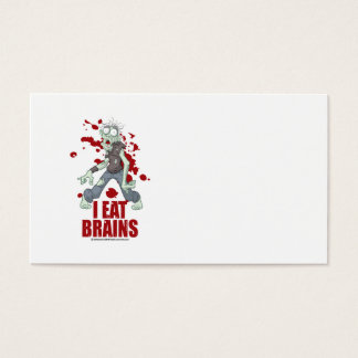 Zombie: I Eat Brains Business Card