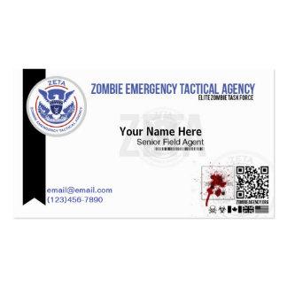 Zombie ID Business Card ZETA
