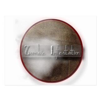 Zombie Infestation Gifts Postcard