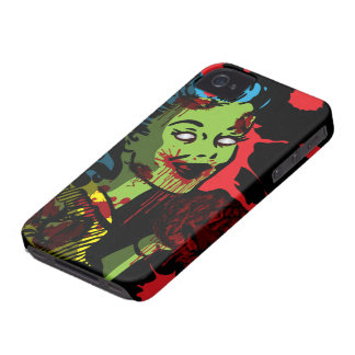 Zombie iPhone 4 Case Zombie Pin-Up Girl