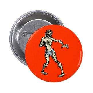Zombie Jesus 1 6 Cm Round Badge