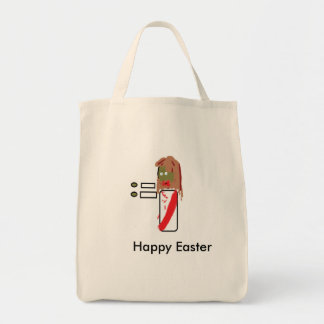 Zombie Jesus Easter Tote Grocery Tote Bag