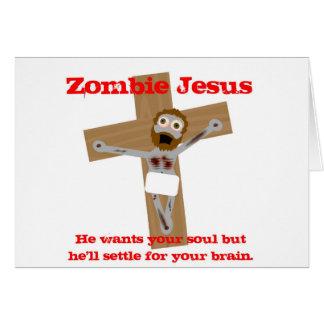 Zombie Jesus Greeting Card