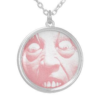 Zombie Jewelry - Zombie Face Necklace