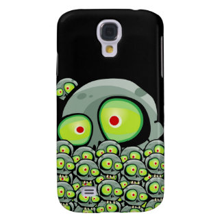 Zombie Jim Apocalypse iPhone 3 Skin Galaxy S4 Cover