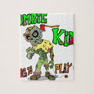 Zombie Kids Jigsaw Puzzle