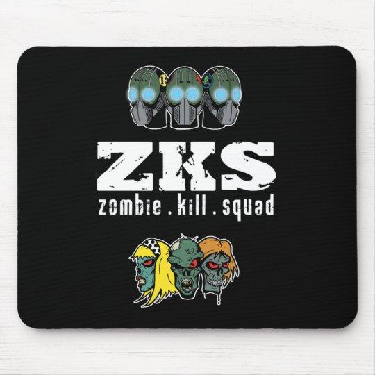 Zombie Kill Squad Mousepad