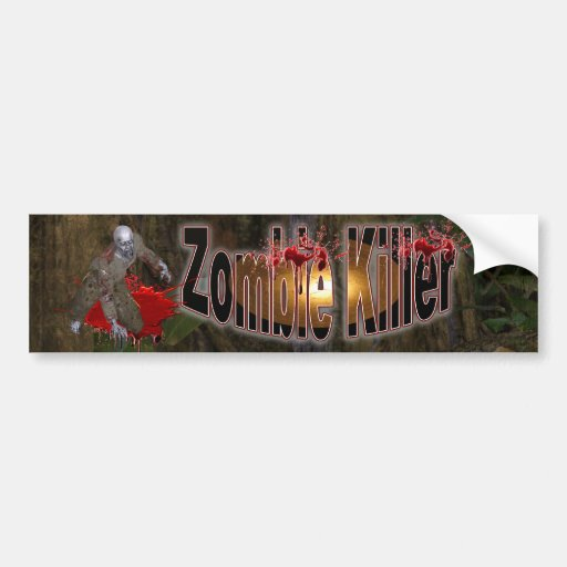 Zombie  Killer #2 Bumper Sticker