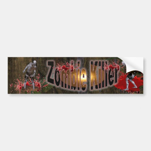 Zombie  Killer #3 Bumper Sticker
