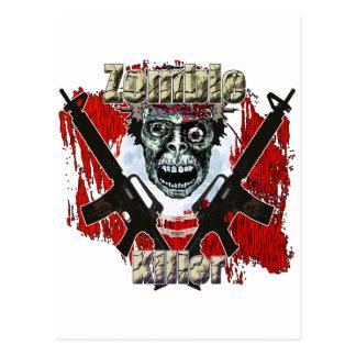 Zombie Killer 4 Postcard