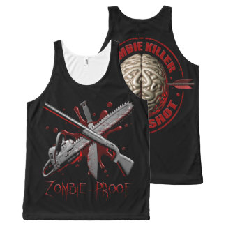 Zombie Killer All-Over Print Tank Top