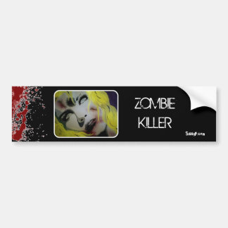 'Zombie Killer' Bumper Sticker
