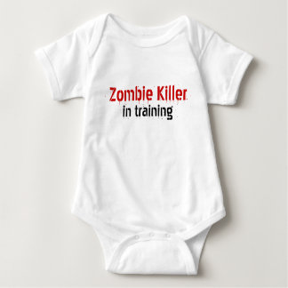 Zombie Killer , in training Baby Bodysuit