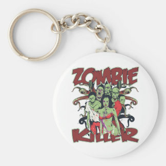 Zombie Killer Keychains