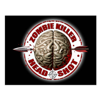 Zombie Killer Post Card