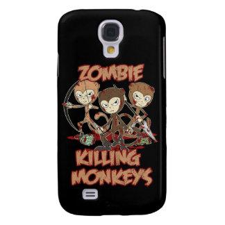 'Zombie Killing Monkeys' Galaxy S4 Case