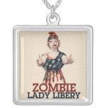 Zombie Lady Liberty