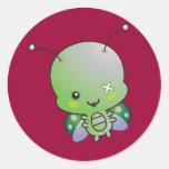 Zombie Ladybug Sticker