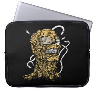 Zombie laptop sleeve. laptop sleeve