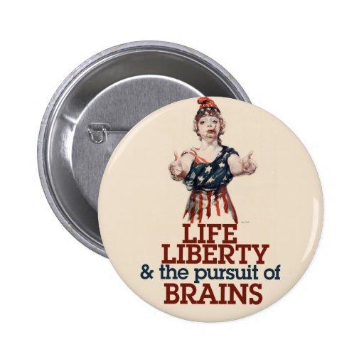 Zombie Liberty Pin