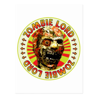 Zombie Lord Postcard