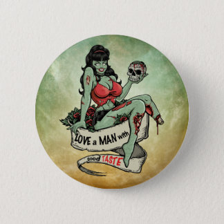 Zombie Love 6 Cm Round Badge