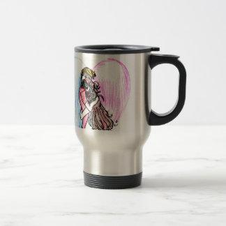 Zombie Love Stainless Steel Travel Mug