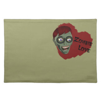 Zombie Love Placemat