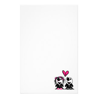 ZOMBIE LOVE STATIONERY PAPER