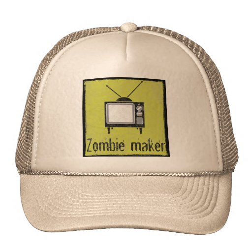 Zombie maker - Television Mesh Hat