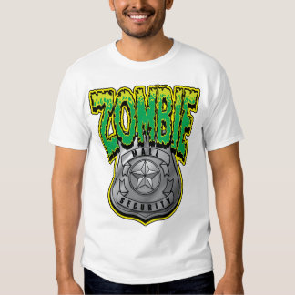Zombie Mall Security Tee Shirts