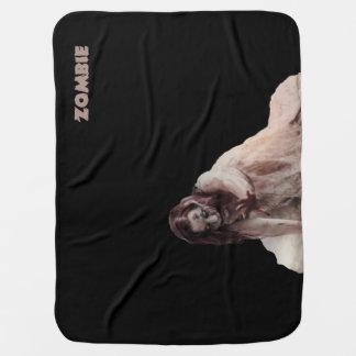 Zombie married baby blanket