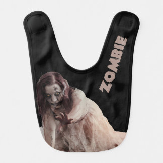Zombie married bib