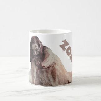 Zombie married coffee mug