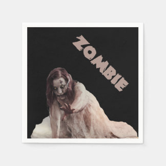 Zombie married disposable serviettes
