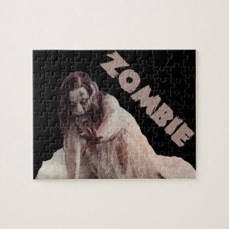 Zombie married jigsaw puzzle