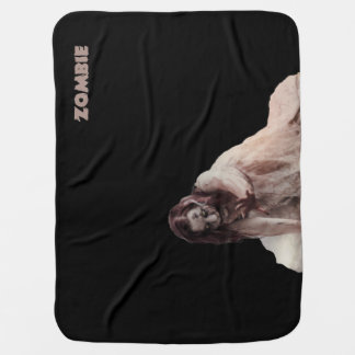 Zombie married swaddle blankets
