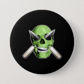 Zombie Mason 7.5 Cm Round Badge