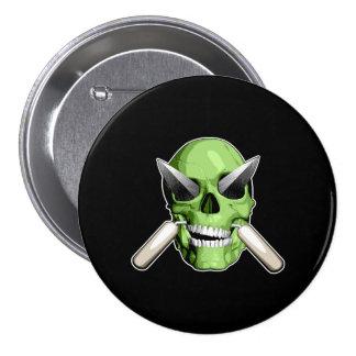 Zombie Mason Pins