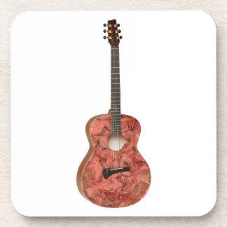 Zombie Meat Guitar Beverage Coaster