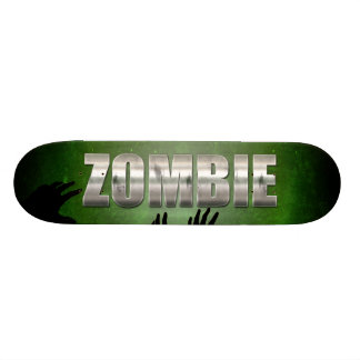 Zombie Metal Text 20 Cm Skateboard Deck