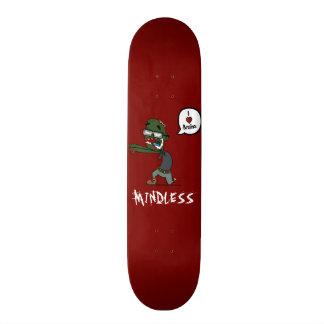 Zombie mindless deck 21.6 cm old school skateboard deck