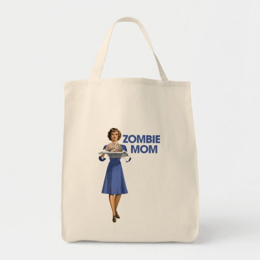 Zombie Mom Canvas Bags