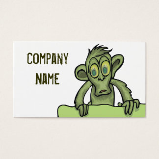 Zombie Monkey Business cards