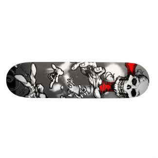 Zombie Moon & Skull Skateboard