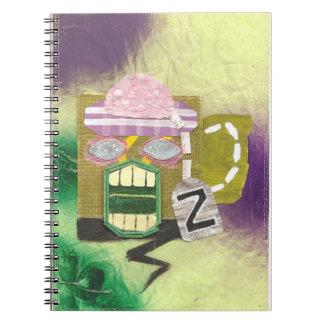 Zombie Mug Notebook